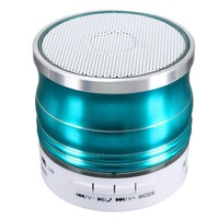ELEGIANT Mini Led Bluetooth Wireless Speaker Stereo Super Bass w/ Mic for iPhone Samsung Blue