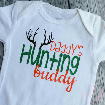 Daddy's Hunting Buddy - Father's Day Vinyl Shirt