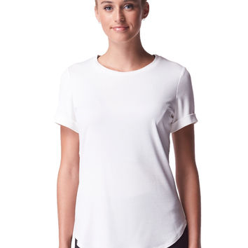 Michi Activewear Onda Top - White