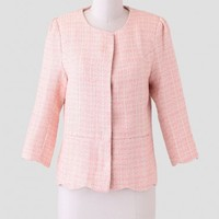 Spring Sorbet Tweed Jacket