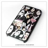 Demi Lovato Collage iPhone 4 4S 5 5S 5C 6 6 Plus , iPod 4 5 , Samsung Galaxy S3 S4 S5 Note 3 Note 4 , HTC One X M7 M8 Case