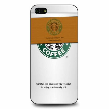 Starbucks Coffee Cup iPhone 5/5s/SE Case