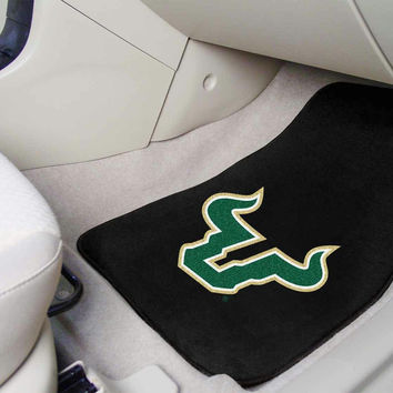 University of South Florida 2 Piece Front Car Mats
