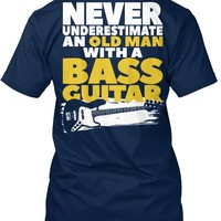 Old Man With A Bass Guitar