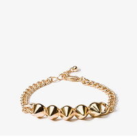 Spiked Chain Link Bracelet