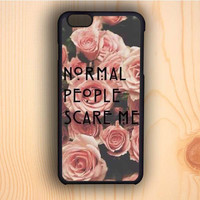 Dream colorful American Horror Story Normal People Scare Me iPhone 6 Case