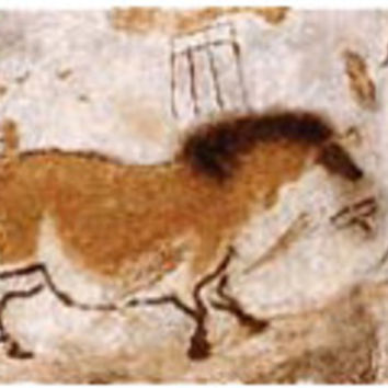 Lascaux Small Tapestry Wall Art Hanging