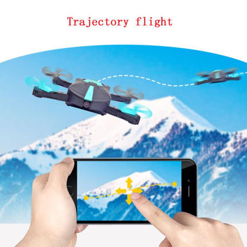 2.4G 4CH Altitude Hold HD Camera WIFI FPV RC Quadcopter Pocket Drone Selfie Foldable  Dropshipping Free Shipping A11