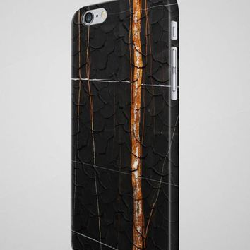 Black MARBLE iPhone 7 Case Marble iPhone 8 Case - Free Shipping