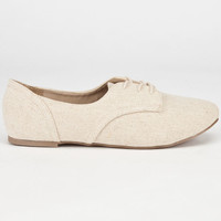 City Classified Desta Womens Shoes Beige  In Sizes