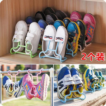 Child Shoe Rack Balcony Drying Shoes Holders Storage Space Saver