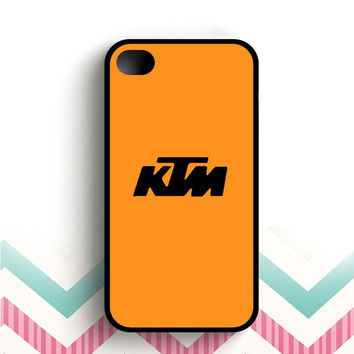 Ktm Logo  iPhone 4 and 4s case
