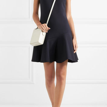 Victoria, Victoria Beckham - Flared crepe mini dress