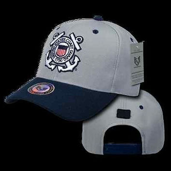 US Military Coast Guard Workout Branch Baseball Cap Ball Hat- Armed Services