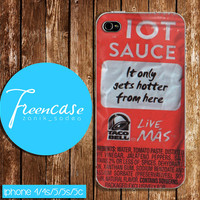 taco bell packet HOT PERSONALIZED case for iphone 4/4s case, iphone 5 case, iphone 5s case, iphone 5c case