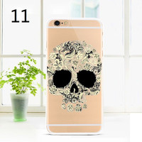 New Ultra-Thin Transparent Scenery For iPhone 6&6S Plus Clear Back Case Cover