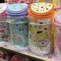 1SANRIO trashcan Hello Kitty My Melody Little Twin Stars Cinnamoroll Pompompurin
