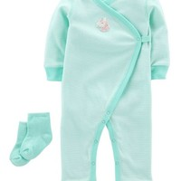 2-Piece Jumpsuit & Sock Set