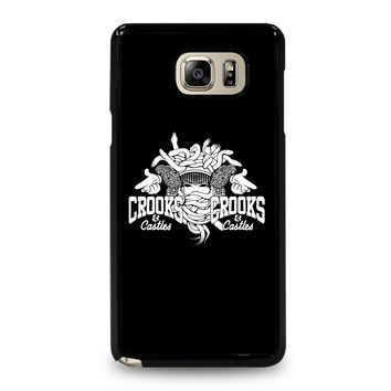 CROOK AND CASTLES Samsung Galaxy Note 5 Case