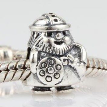 Hoobeads Viking Warrior Charms Authentic 925 Sterling Silver Bead Fits Europen Style Bracelets
