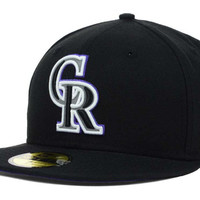 Colorado Rockies MLB Team Reflective 59FIFTY Cap