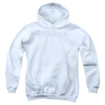 7 Th Heaven - 7 Th Heaven Logo Youth Pull Over Hoodie