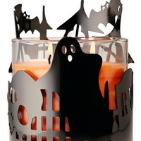 Black Haunted House 14.5 oz. Metal Candle Sleeve - Slatkin & Co. - Bath & Body Works