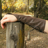Deluxe Leather Arm Guards Soft and FlexibleMade by TheModestMaiden