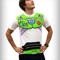 Toy Story Buzz Lightyear Tee Costume