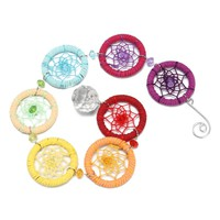 7 Chakra Dream Catcher ~ Crystal Rings