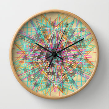 Starburst Wall Clock by Dood_L