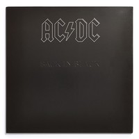 AC/DC 'Back in Black' LP Vinyl Record