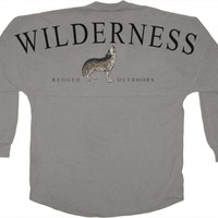 Wilderness - Rugged (Wolf) Outdoors - Classic Crew Neck Spirit Jersey®