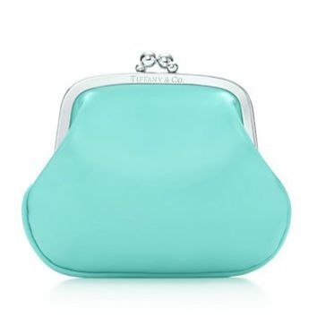 Tiffany & Co. | Item | Coin purse in Tiffany Blue?- patent leather. | United States