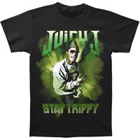 Juicy J Men's  Stay Trippy T-shirt Black Rockabilia