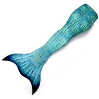 LORELEI GREEN ADULT MERMAID TAIL WITH MONOFIN