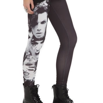 Black Veil Brides Faces Leggings