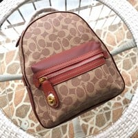 Kuyou Gb89815 Coach 32715 Campus Backpack 23 In Signature Canvas 27x23cm