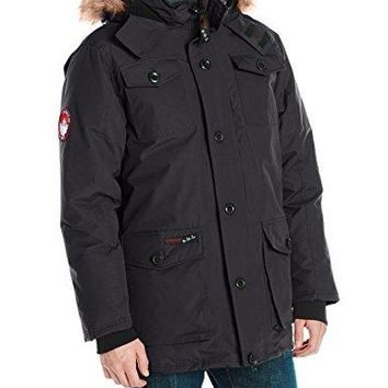 Canada Weather Gear Men's Heavy Weight Parka canada goose men parka carson