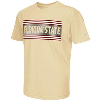 ONETOW NCAA Florida State Seminoles Youth Silver Bar T-Shirt