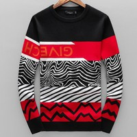 Givenchy Autumn Winter New Popular Women Men Casual Long Sleeve Warm Sweater Top Sweatshirt