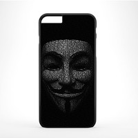 Anonymous Mask Expect Us iPhone 6 Plus Case