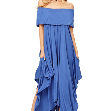 Spark Off Shoulder Dress