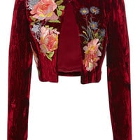 Desiree Cropped Jacket | Moda Operandi