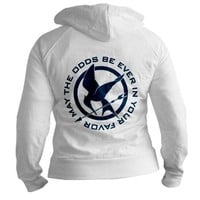 Mockingjay Fitted Hoodie by nskiny- 622008428