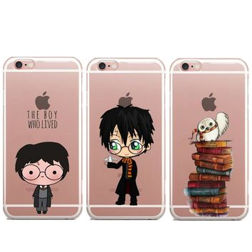 Avada Kedavra Bitch shirt for Harry Potter Case For iPhone 7 7Plus 6 6s 5S Crystal Clear Soft TPU Gel Flexible Skin Cover Coque