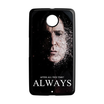 Severus snape always after all this time Nexus 6 Case