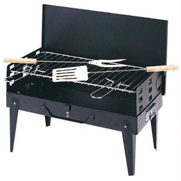 Portable Barbeque Set With Complete Tools