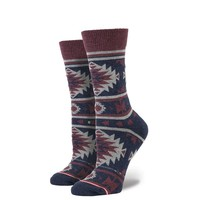 Stance | Nu Native Indigo Multi, Blue, Maroon socks | Buy at the Official website Main Website.