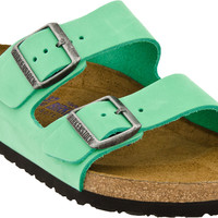 Birkenstock Arizona Nubuck Soft Footbed
